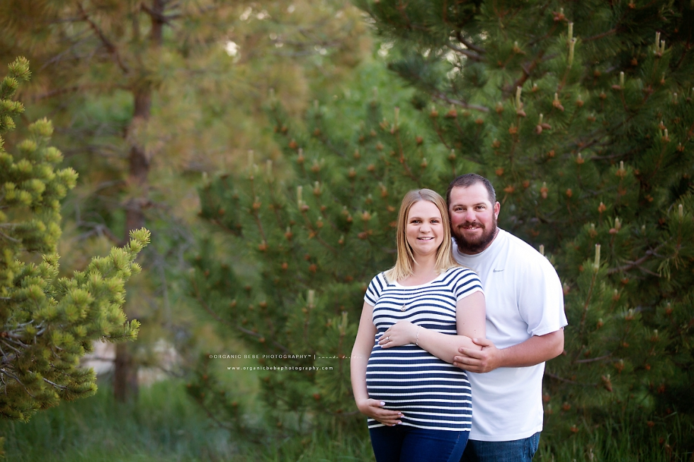 couples maternity photography session denver