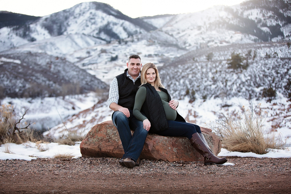 mountain maternity session fort collins