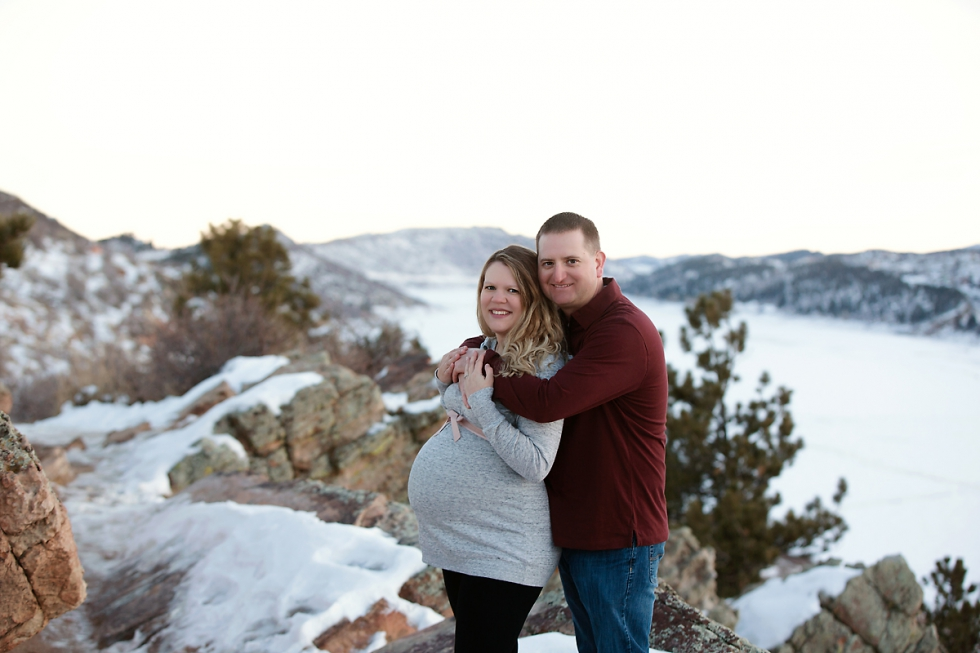 fort collins maternity session